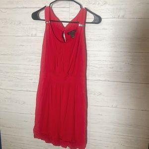 Red whbm mini dress